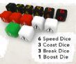 Rallyman GT - Dice Set